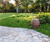 Jardim formal — Foto Stock