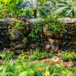 Stock Photo: Water fall in garden