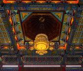 лампа китайский храм, ват ленг noei-yi — Стоковое фото
