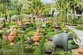 Decorate in garden — Stock Photo