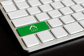 """""""Home"""" Button on Computer Keyboard — Stock Photo"""