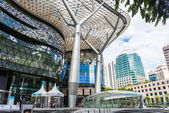 SINGAPORE - JUNE 18 : Day view of ION Orchard shopping mall onJU — Stock Photo