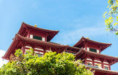 Buddha's Relic Tooth Temple in Singapore Chinatown — Stock Photo