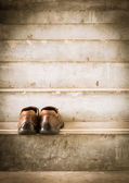 Man and women shoes — Stock Photo