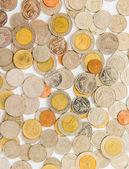 O fundo de moedas — Foto Stock