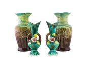 Decorative ceramic vase isolated — Foto de Stock
