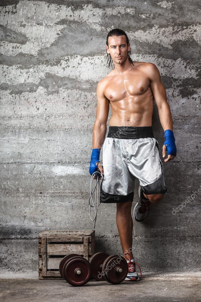 foto boxer hombre:
