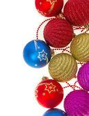 Christmas decoration isolated on white, background — Stock Photo