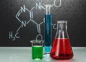 Chemie laboratorium — Stockfoto