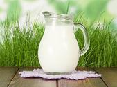 Full of Milk jug — Stock Photo