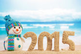 New year 2015 sign — Foto Stock