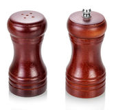 Salt cellar and pepper shaker — Stock Photo