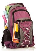 Skolan ryggsäck — Stockfoto