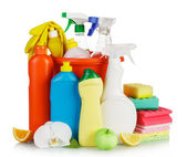 Cleaning items — Stockfoto
