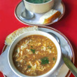 Sour cream soup — Foto Stock