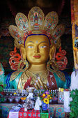 Maitreya Buddha statue at Hemis Gompa — Stock Photo