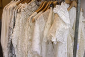 White Lace Blouse — Stock Photo