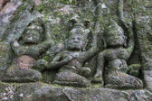 Sculpture des peintures rupestres — Photo