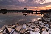 Lower Peirce Reservoir — Stock Photo