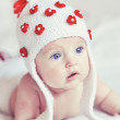 Cute baby indoors — Stock Photo