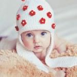 Beautiful baby indoors — Stock Photo #32081479