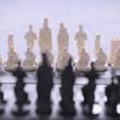 Chess pieces  — Stock fotografie