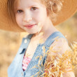 Kid girl wearing hat — Stock Photo #48036293