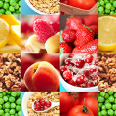 Healthy fresh nutrition — Stock Photo