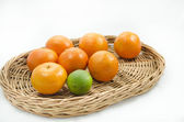Tangerine and lime — Foto Stock