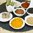 Stock Photo: Mix spices