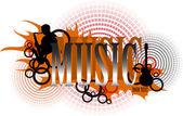 εικονίδιο μουσική — Διανυσματικό Αρχείο