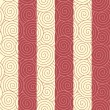 Abstract seamless spirals pattern, background. — Stock Vector #32059489