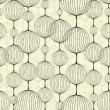 Abstract seamless pattern, background. — Stockvektor