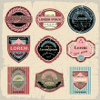 Vintage And Retro label — Stock Vector