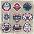 Vintage And Retro label. — Stock Vector