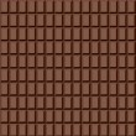 Seamless chocolate pattern. — Stock Vector