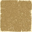 Stock Vector: Retro seamless spirals pattern on vintage old paper.