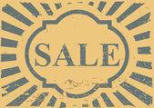 Vintage label sale — Stock Vector