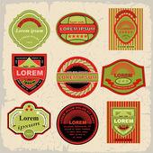 Vintage und retro label — Stockvektor