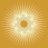 美しさのヒマワリの概念図 — ストックベクタ
