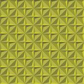 Yeşil doku, geometrik seamless modeli. — Stok Vektör