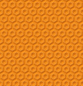 Yellow honeycomb hexagon texture — Stock Vector