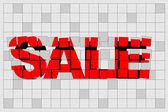 Yaratıcı satılık — Stok Vektör