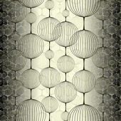 3d tiles abstract seamless pattern — ストックベクタ