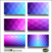 Vector banner set. Abstract header vector background . — Stock vektor