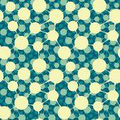 Seamless bulk molecular structure — Stock Vector