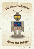 Robô de desenho animado — Vetorial Stock