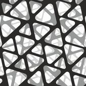 Vector seamless pattern. Modern stylish 3d texture of mesh. — Vecteur