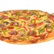 Side view of pizza — Stock Photo