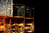 Close-up view of whiskey on a table — Stock Photo